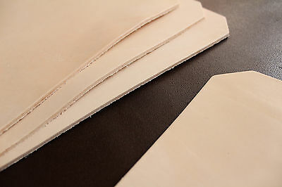 Top Thick Leather 33x24,5 cm, leather, Hallmarking planzl. Reenactment