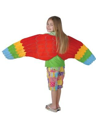 Child Full Length Bird Costume Accessory Parrot Wings