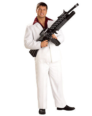 Scarface Tony Montana Costume Tommy Gun Toy Weapon