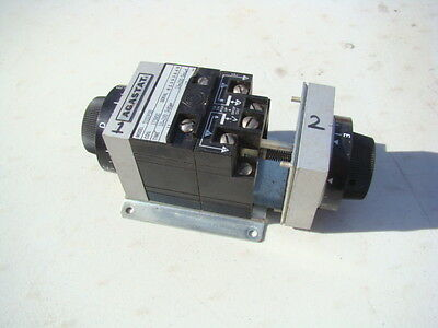 Agastat Timing Relay 10 to 100 Second On/Off Delay 120V 7032-PDD