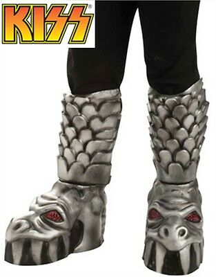 Adults Kiss Gene Simmons The Demon Costume Rock Star Boot Covers