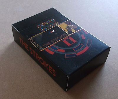 THE STROKES Room On Fire 2003 UK promo only pack of playing cards