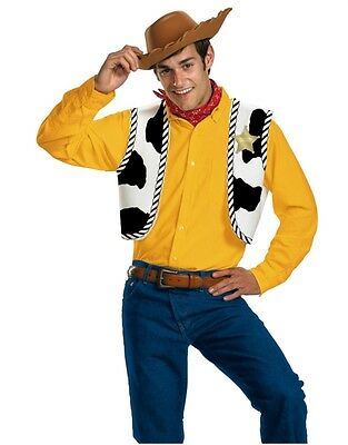 Toy Story Cowboy Woody Costume Set Vest Bandana and Hat