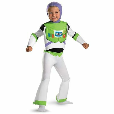 BUZZ LIGHTYEAR TOY STORY DELUXE CHILD COSTUME Halloween Cosplay Fancy Dress B17