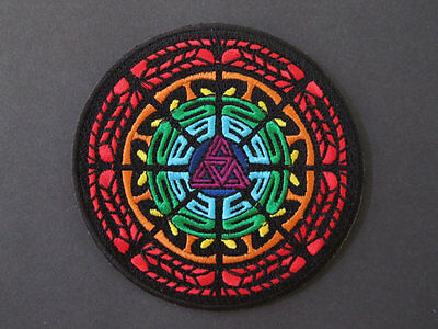 STS9 ROYGBIV IRON ON PATCH-not grateful,sci,sts9,eoto,bassnectar,skrillex,rave