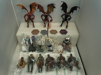 LOTR LORD OF THE RINGS FIGURES LOT 1998 Tolkien Middle Earth Hobbit Toy Vault