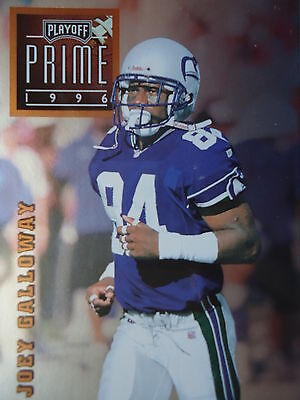 NFL 046 Joey Galloway WR Wide Receiver Play off Prime 1996