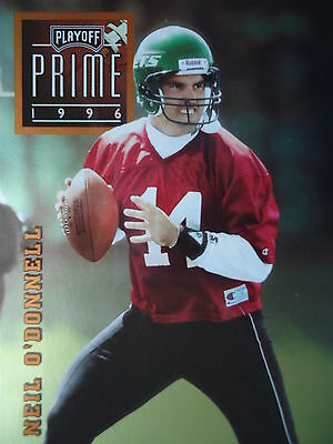 NFL 056 Neil O'Donnell QB Quaterback Play off Prime 1996