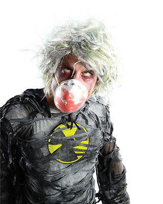 Men's Nuclear Zombieman Zombie Man Wig Costume Accessory