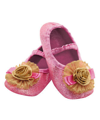 Aurora Sleeping Beauty Disney Slippers Toddlers Costume Accessory Up to Size 6