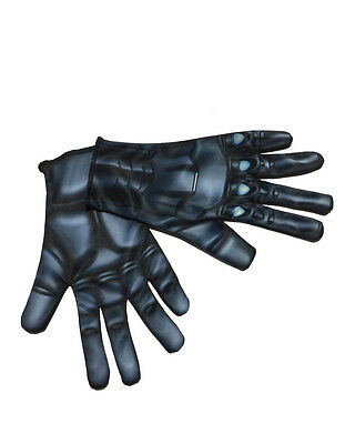 Womens Costume Gloves Black Widow Marvel Gauntlets Costume Accessory
