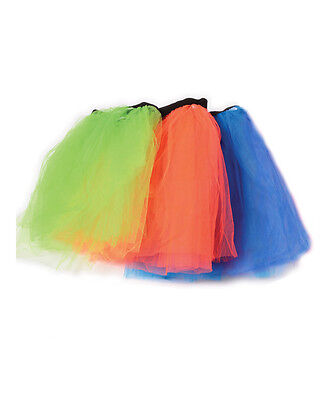 Economy Dance Studio Neon Assorted Color Tutu Skirt 3 Pack Costume Accessory