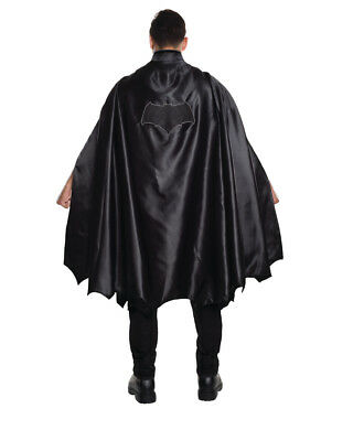 Adults Deluxe Black Batman Dawn Of Justice Cape Costume Accessory