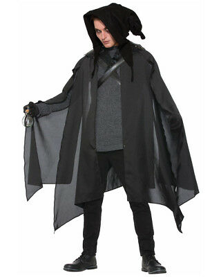 Adult's Executioner Wizard Warlock Cowl Hood Costume Accessory