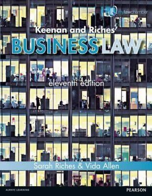 Keenan and Riches' Business Law Premium Pack by Sarah Riches 9781447923008