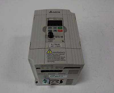 Delta Variable Frequency Drive 1Hp 3Ph Vfd007M43B