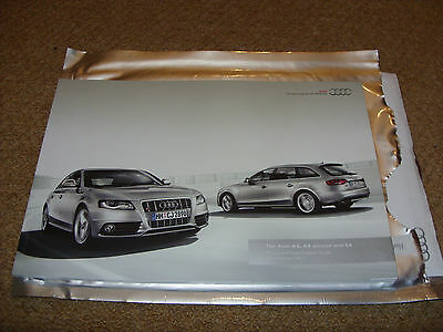Audi A4 Allroad & S4  Pricing and Specification 2011 Brochure