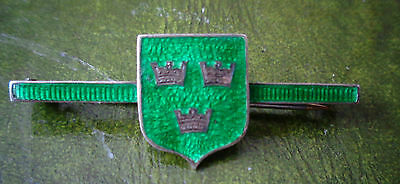 Swimming T M H S 1934 Swimming Intermedate Enamel Lapel Badge