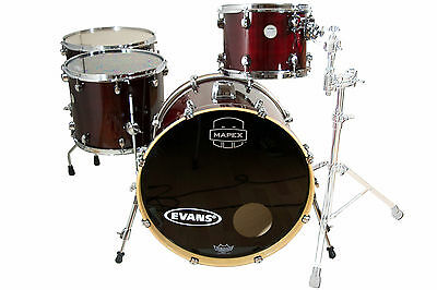 Mapex Meridian Maple Set B-WARE - 22/12/16/18 - Trans Cherry Red