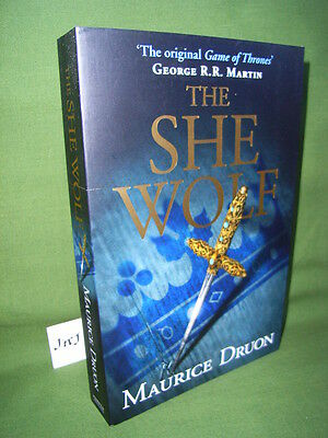 Maurice Druon The She Wolf First Uk Paperback Edition New & Unread