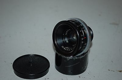 Jupiter-12 Wide Angle Lens. Kiev/Contax Mount With Caps. 1987. No.8704764. AS IS