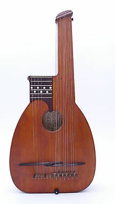 GEORG STÖSSEL STOESSEL GERMAN HISTORICAL Old ANTIQUE ALTE LAUTE LUTH LUTE GUITAR