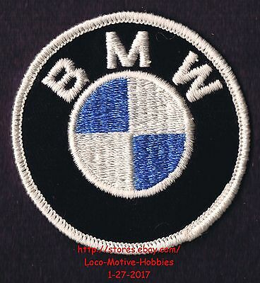 LMH Patch Badge BMW Automobile Spinning Propeller 1979 2007 Motorcycle Lt Blue