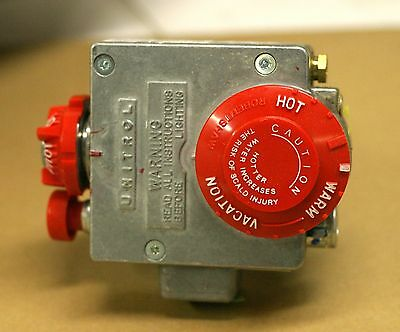 NEW Rheem Thermostat Water Heater Natural Gas Control Valve, SP8555P; WR SP20264