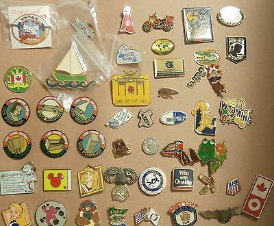 Lot of 50 Pins - Disney - Home Depot  Gators - Animals - Places & lots More