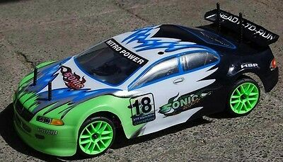 RC Verbrenner Auto On-Road 1/10 - 2,4Ghz - Sonic