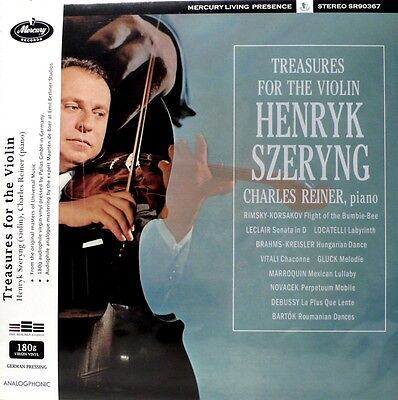 Henryk Szeryng -Analogphonic - Lp-43048 - Mercury - Sr-90367 - Violin Treasures