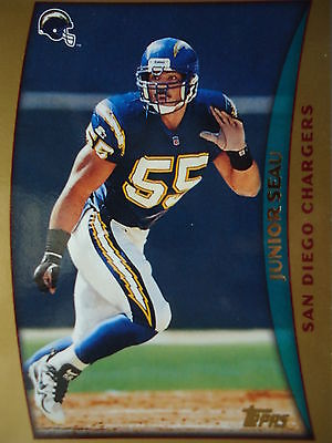 NFL 196 Junior Seau San Diego Chargers Topps 1998
