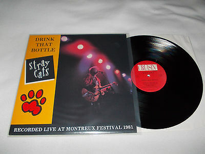 The Stray Cats-Live Ay Montreux Festival 1981 10 Track Lp (Italian Press)