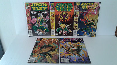 Iron Fist - Lot De 5 Comics   Marvel  (En Version Originale)