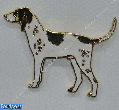 Pins Chien Chasse Ariegeois Metal Epais Emaille