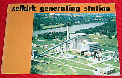 Selkirk Generating Station  Visitor Guide Electricity Manitoba Canada 1971 c