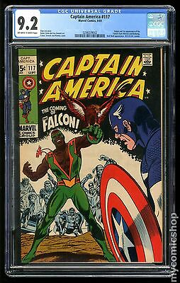 Captain America (1968 1st Series) #117 CGC 9.2 (0296039002)