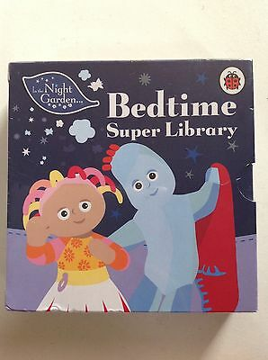 In The Night Garden Bedtime Super Library Books - 6 books in a case