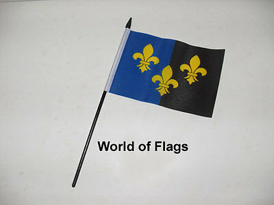 """MONMOUTHSHIRE SMALL HAND WAVING FLAG 6"""" x 4"""" Wales Welsh Crafts Table Desk"""