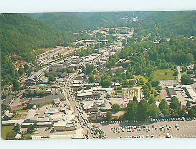 Unused Pre-1980 AERIAL VIEW Gatlinburg Tennessee TN hs8144