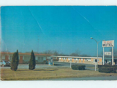 Damaged Pre-1980 THE 40 EAST MOTEL Hagerstown Maryland MD M4447