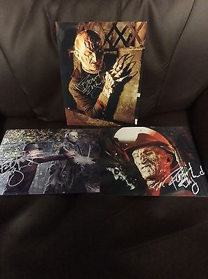 Freddy Kruger Robert Englund Nightmare On Elm Street PP Autograph Collection