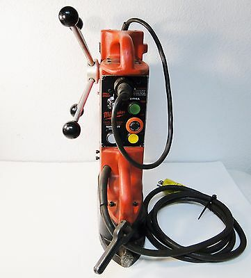 Milwaukee # 4203 Electromagnetic Drill Press With # 4253-1 Drill Motor