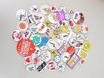 Large Collection of Pinbacks