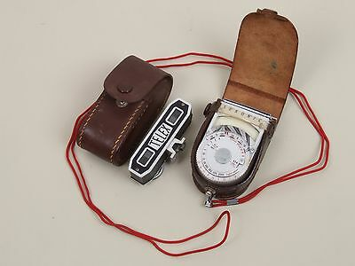 Vintage Seckonic Photography Light Meter and Accessory