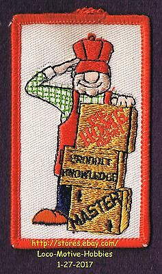"""LMH PATCH Badge  HOME DEPOT Employee MASTER Product Knowledge Program 3-3/8"""""""