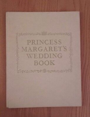 Princess Margaret's Wedding Book to Antony Armstrong-Jones 1960 by Neil Ferrier