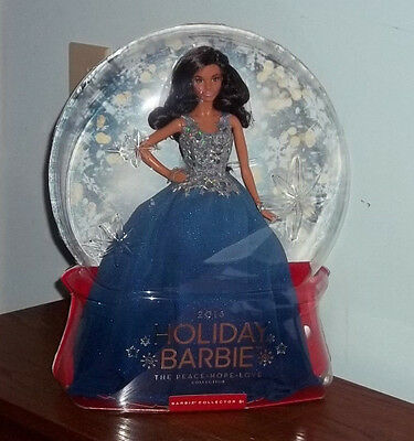 NEW 2016 Barbie Collector Peace Hope Love Collection Holiday African American