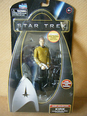 """Star Trek Warp Collection """"KIRK"""". By Playmates Toys 2009. New & Sealed"""