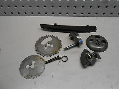 P1 Piaggio Fly 150 Scooter 2009 Engine Camshaft Gears w Release